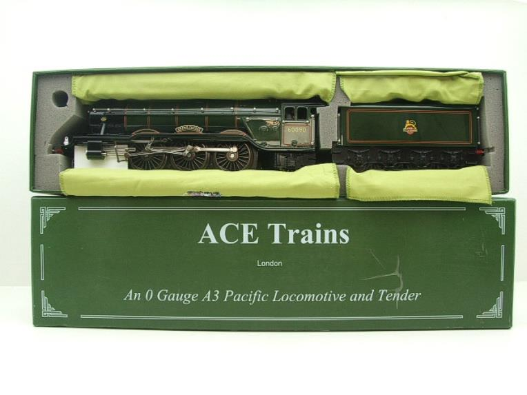"Ace Trains O Gauge E6 A3 Pacific BR Green ""Grand Parade"" R/N 60090 Boxed 3 Rail image 17"