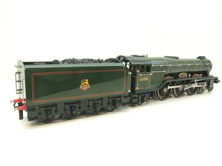 "Ace Trains O Gauge E6 A3 Pacific BR Green ""Grand Parade"" R/N 60090 Boxed 3 Rail image 18"