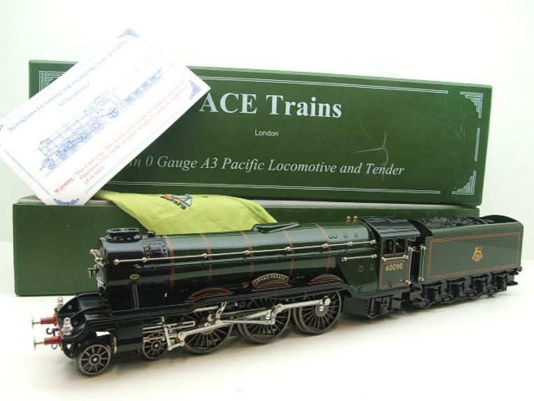 "Ace Trains O Gauge E6 A3 Pacific BR Green ""Grand Parade"" R/N 60090 Boxed 3 Rail image 22"