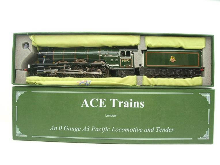 "Ace Trains O Gauge E/6 A3 Pacific Class BR ""Sunstar"" R/N 60072 Electric 3 Rail Boxed image 18"