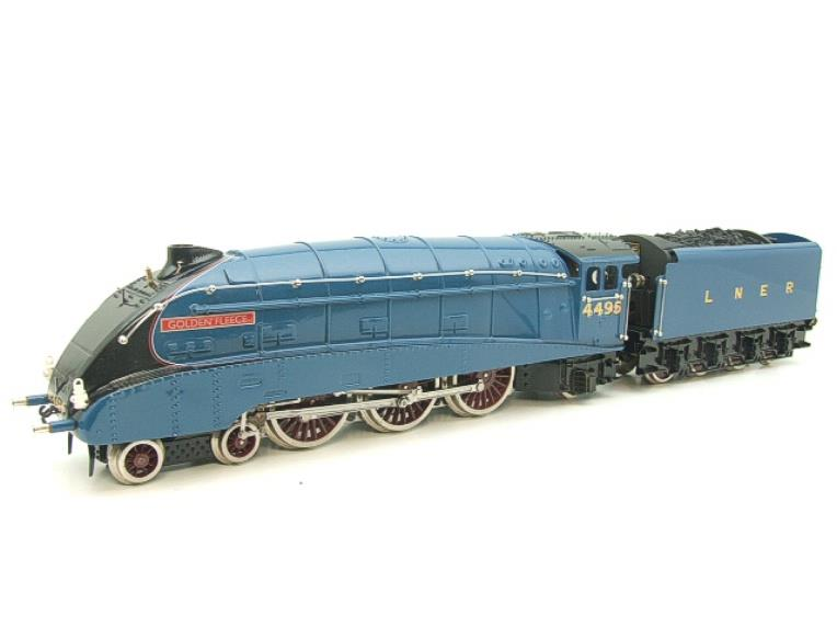 "Ace Trains O Gauge E4 A4 Pacific LNER Blue ""Golden Fleece"" R/N 4495 Electric 3 Rail Boxed image 11"