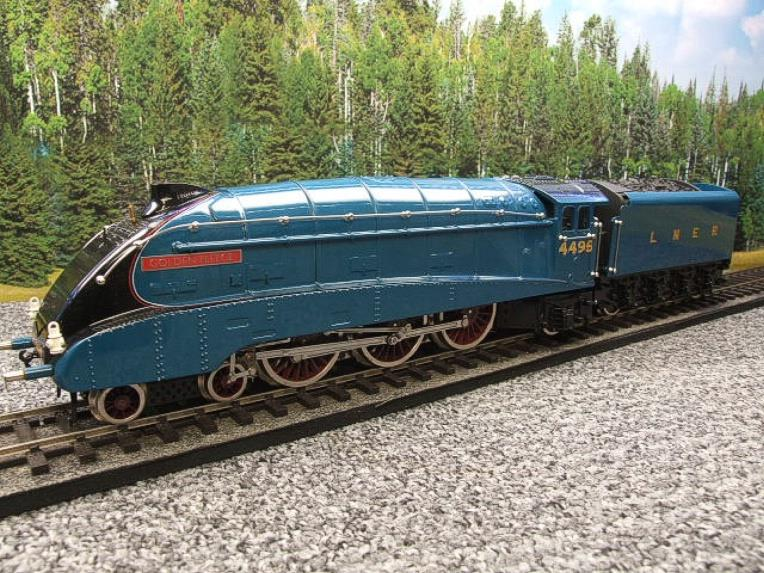 "Ace Trains O Gauge E4 A4 Pacific LNER Blue ""Golden Fleece"" R/N 4495 Electric 3 Rail Boxed image 20"