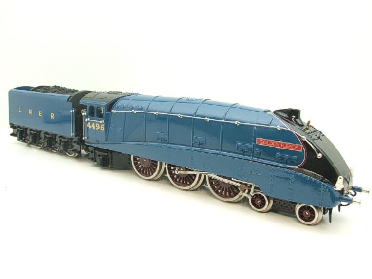 "Ace Trains O Gauge E4 A4 Pacific LNER Blue ""Golden Fleece"" R/N 4495 Electric 3 Rail Boxed image 21"