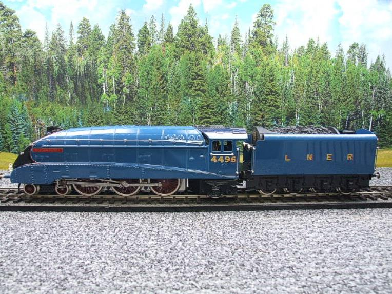 "Ace Trains O Gauge E4 A4 Pacific LNER Blue ""Golden Fleece"" R/N 4495 Electric 3 Rail Boxed image 22"