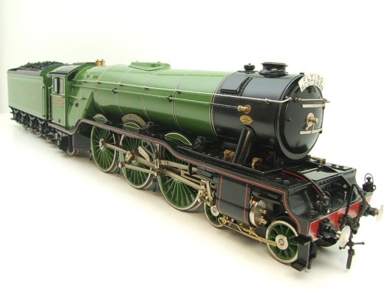 "Gauge 1 Aster LNER A3 Class Pacific ""Flying Scotsman"" & Twin Tenders R/N 4472 Live Steam image 11"