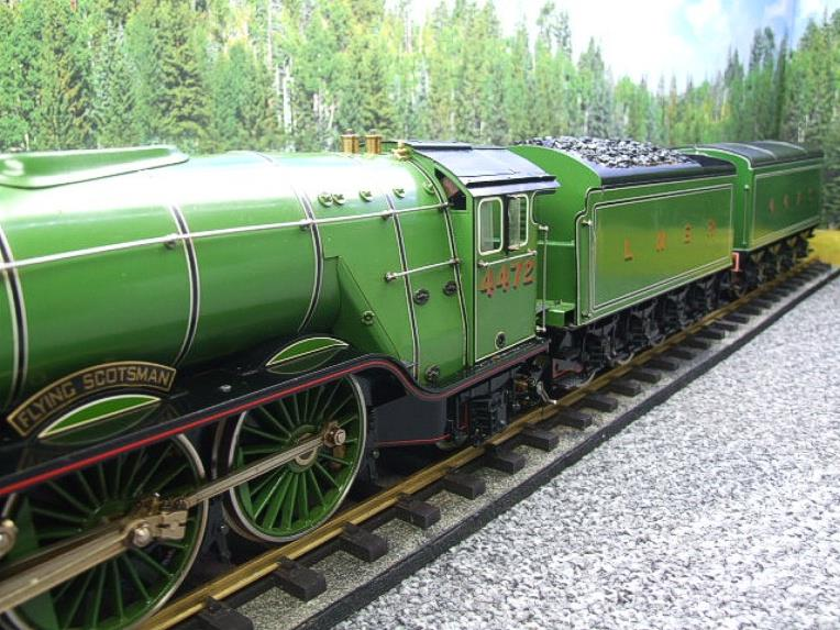 "Gauge 1 Aster LNER A3 Class Pacific ""Flying Scotsman"" & Twin Tenders R/N 4472 Live Steam image 12"
