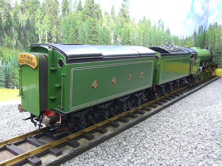 "Gauge 1 Aster LNER A3 Class Pacific ""Flying Scotsman"" & Twin Tenders R/N 4472 Live Steam image 21"