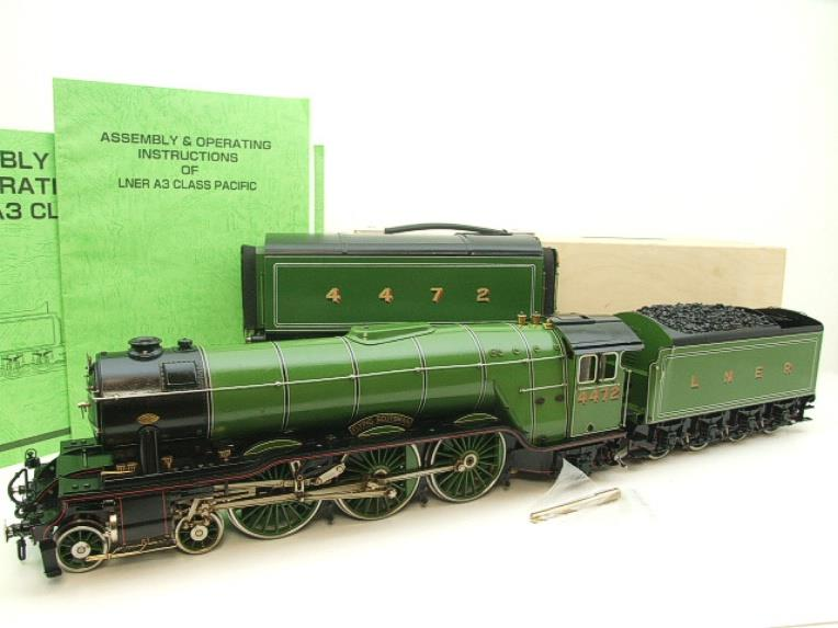 "Gauge 1 Aster LNER A3 Class Pacific ""Flying Scotsman"" & Twin Tenders R/N 4472 Live Steam image 22"
