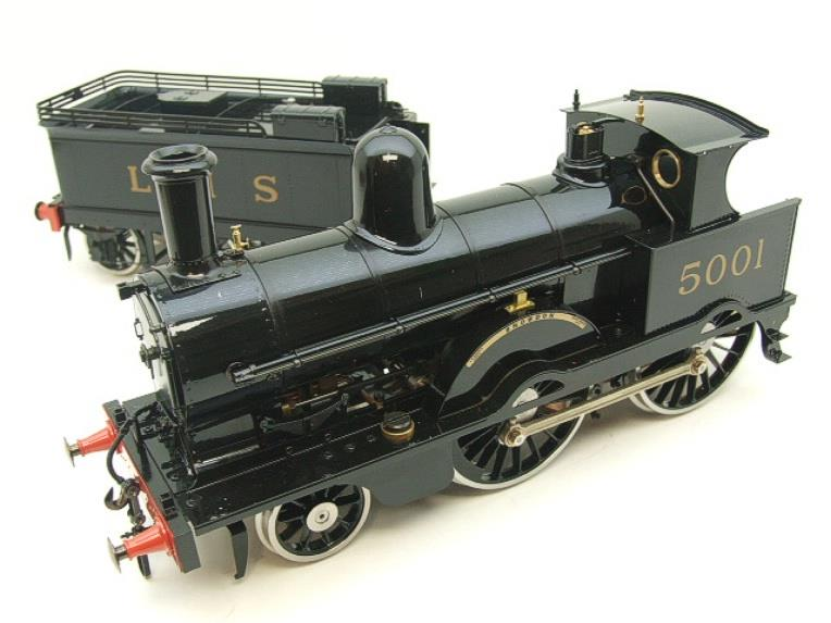 "Gauge 1 Aster LMS Black Jumbo ""Snowdon"" R/N 5001 Live Steam NEW Boxed image 17"