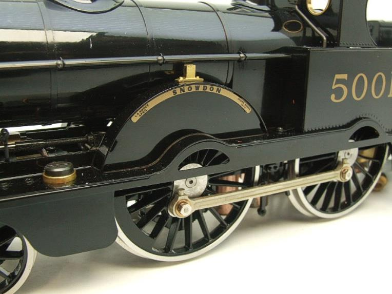 "Gauge 1 Aster LMS Black Jumbo ""Snowdon"" R/N 5001 Live Steam NEW Boxed image 19"