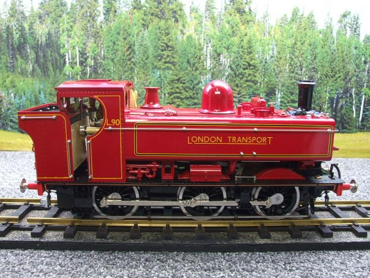 "Gauge 1 Aster ""London Transport"" Class 5700 Pannier Tank Loco L90 Live Steam Boxed image 14"