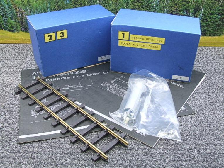 "Gauge 1 Aster ""London Transport"" Class 5700 Pannier Tank Loco L90 Live Steam Boxed image 16"
