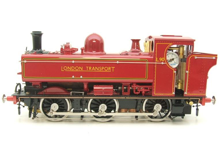 "Gauge 1 Aster ""London Transport"" Class 5700 Pannier Tank Loco L90 Live Steam Boxed image 17"