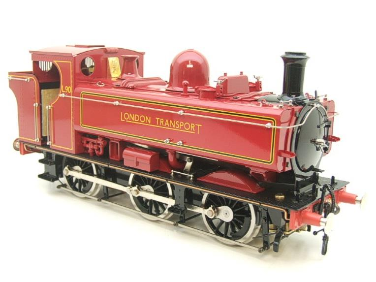 "Gauge 1 Aster ""London Transport"" Class 5700 Pannier Tank Loco L90 Live Steam Boxed image 18"