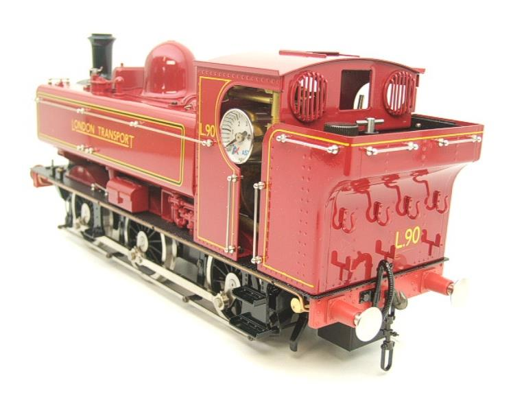 "Gauge 1 Aster ""London Transport"" Class 5700 Pannier Tank Loco L90 Live Steam Boxed image 19"
