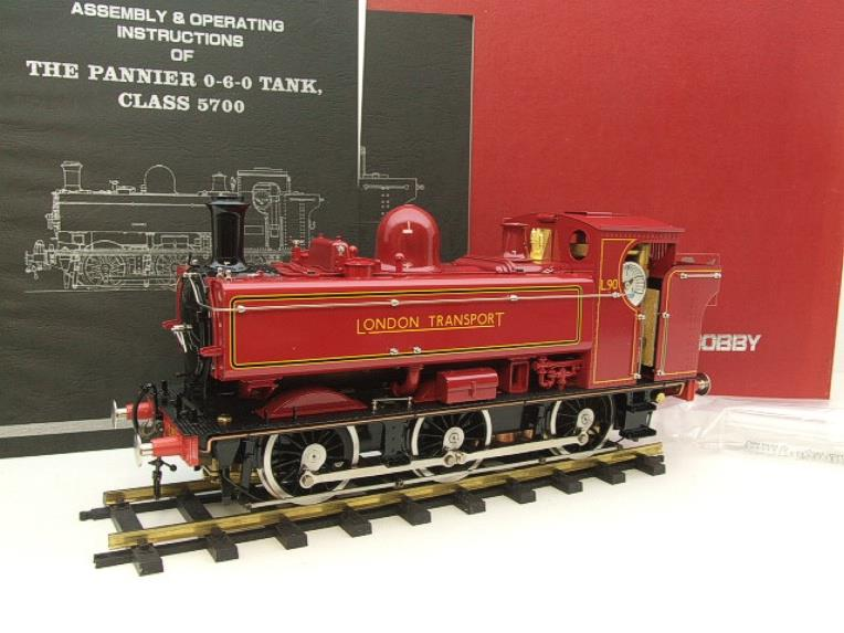 "Gauge 1 Aster ""London Transport"" Class 5700 Pannier Tank Loco L90 Live Steam Boxed image 20"