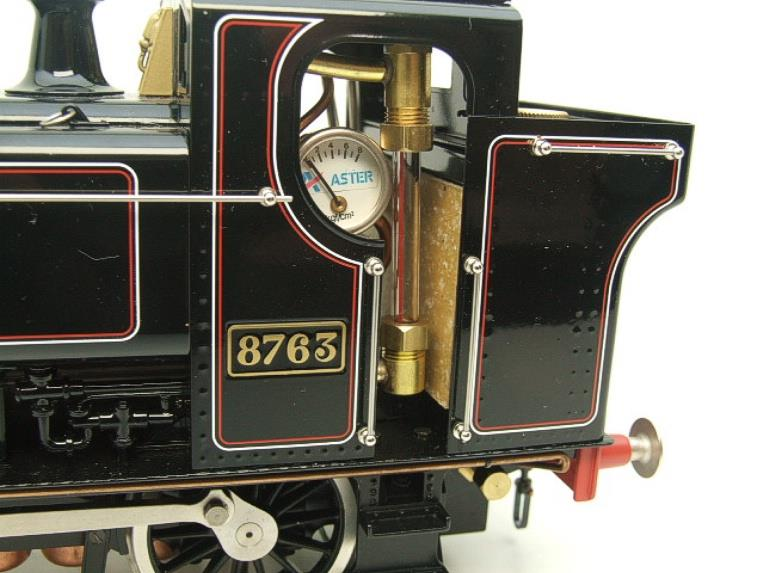 Gauge 1 Aster BR Black Class 5700 Pannier Tank Loco R/N 8763 Live Steam Boxed image 12