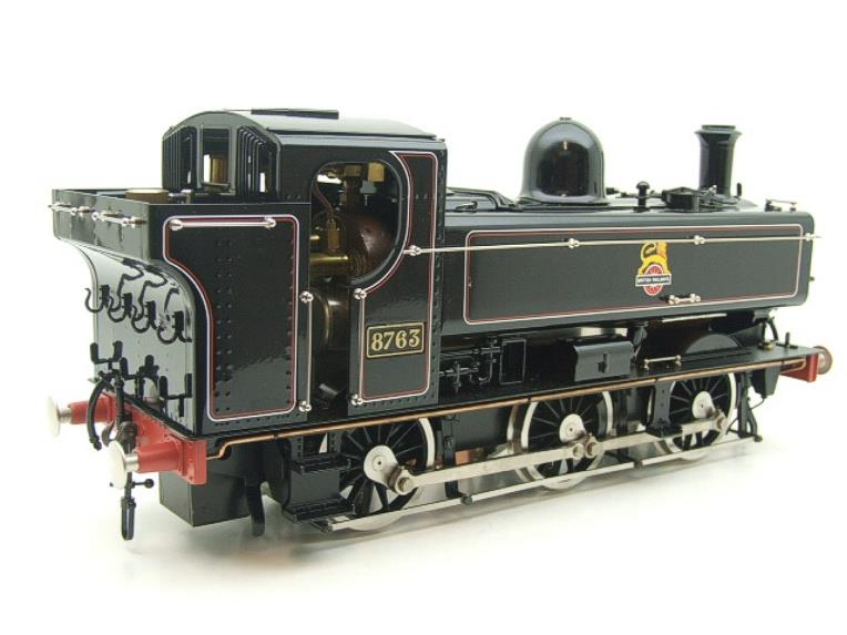 Gauge 1 Aster BR Black Class 5700 Pannier Tank Loco R/N 8763 Live Steam Boxed image 18