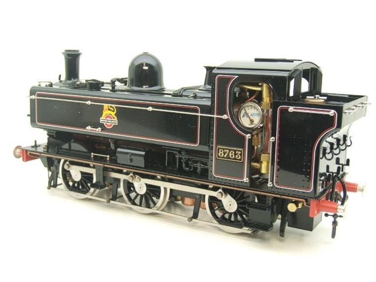 Gauge 1 Aster BR Black Class 5700 Pannier Tank Loco R/N 8763 Live Steam Boxed image 19