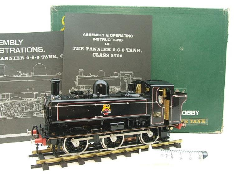 Gauge 1 Aster BR Black Class 5700 Pannier Tank Loco R/N 8763 Live Steam Boxed image 20