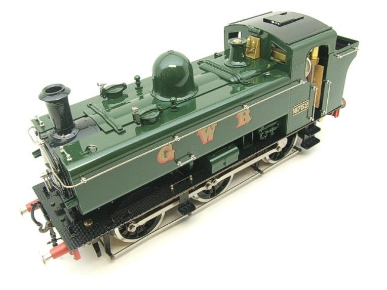 Gauge 1 Aster GWR Green Class 5700 Pannier Tank Loco R/N 6752 Live Steam Boxed image 12