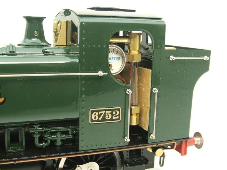 Gauge 1 Aster GWR Green Class 5700 Pannier Tank Loco R/N 6752 Live Steam Boxed image 14