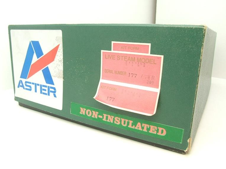 Gauge 1 Aster GWR Green Class 5700 Pannier Tank Loco R/N 6752 Live Steam Boxed image 17