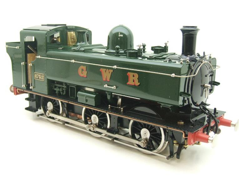 Gauge 1 Aster GWR Green Class 5700 Pannier Tank Loco R/N 6752 Live Steam Boxed image 19