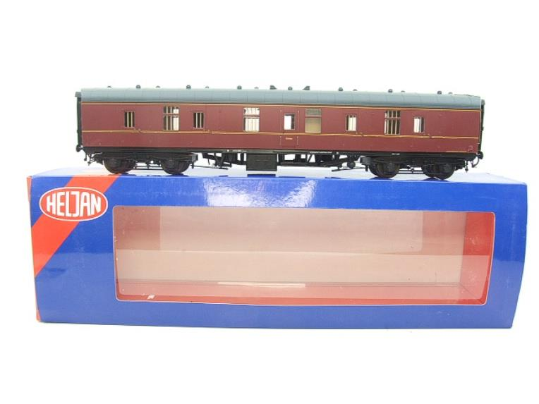 Heljan Tower Models O Gauge HJ4951 Mk1 BR Maroon Full Brake Coach Un-numbered Boxed image 15