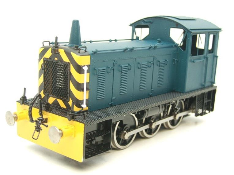 Bachmann Brassworks SanCheng O Gauge 04 Blue Diesel 0-6-0 Shunter Loco Electric 2 Rail Boxed image 13