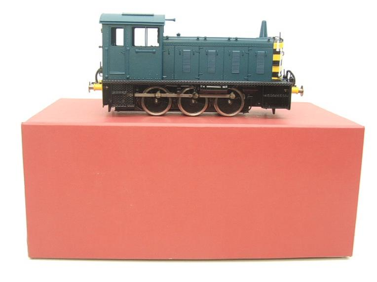 Bachmann Brassworks SanCheng O Gauge 04 Blue Diesel 0-6-0 Shunter Loco Electric 2 Rail Boxed image 14