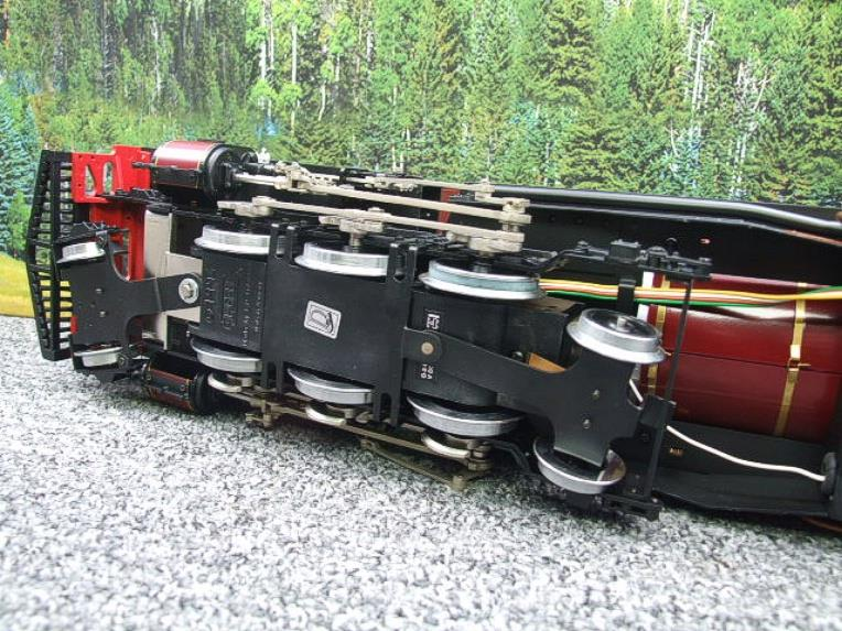 "Gauge 1 Aster/LGB NGG13 No.60 Schbb ""Beyer Garratt"" 20922 Digital Steam Locomotive image 13"