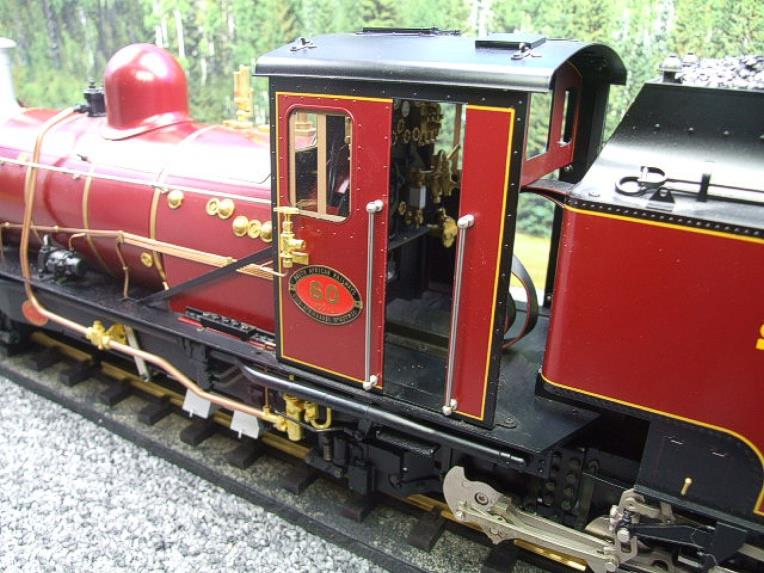 "Gauge 1 Aster/LGB NGG13 No.60 Schbb ""Beyer Garratt"" 20922 Digital Steam Locomotive image 16"