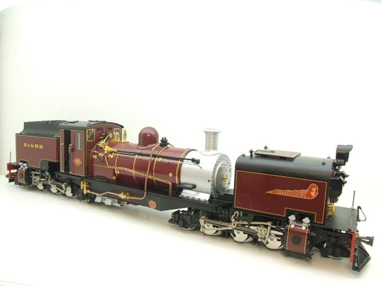 "Gauge 1 Aster/LGB NGG13 No.60 Schbb ""Beyer Garratt"" 20922 Digital Steam Locomotive image 17"