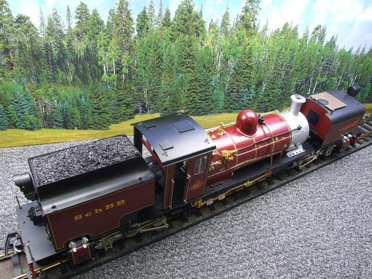 "Gauge 1 Aster/LGB NGG13 No.60 Schbb ""Beyer Garratt"" 20922 Digital Steam Locomotive image 18"