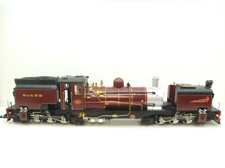"Gauge 1 Aster/LGB NGG13 No.60 Schbb ""Beyer Garratt"" 20922 Digital Steam Locomotive image 20"