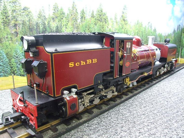 "Gauge 1 Aster/LGB NGG13 No.60 Schbb ""Beyer Garratt"" 20922 Digital Steam Locomotive image 21"