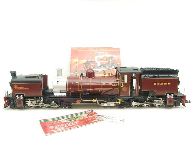 "Gauge 1 Aster/LGB NGG13 No.60 Schbb ""Beyer Garratt"" 20922 Digital Steam Locomotive image 22"