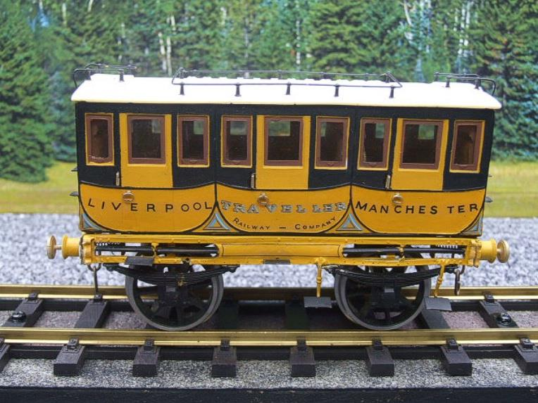 Gauge 1 Aster Style The Wagon & Carriage Works Period Style 1st & 2nd Class Coaches Set image 13
