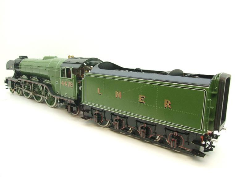 "Gauge 1 Accucraft S32-4 LNER A3 ""Flying Scotsman"" R/N 4472 Gas Fired Live Steam R/Controlled Bxd image 11"