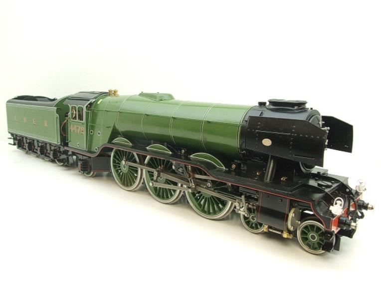 "Gauge 1 Accucraft S32-4 LNER A3 ""Flying Scotsman"" R/N 4472 Gas Fired Live Steam R/Controlled Bxd image 13"
