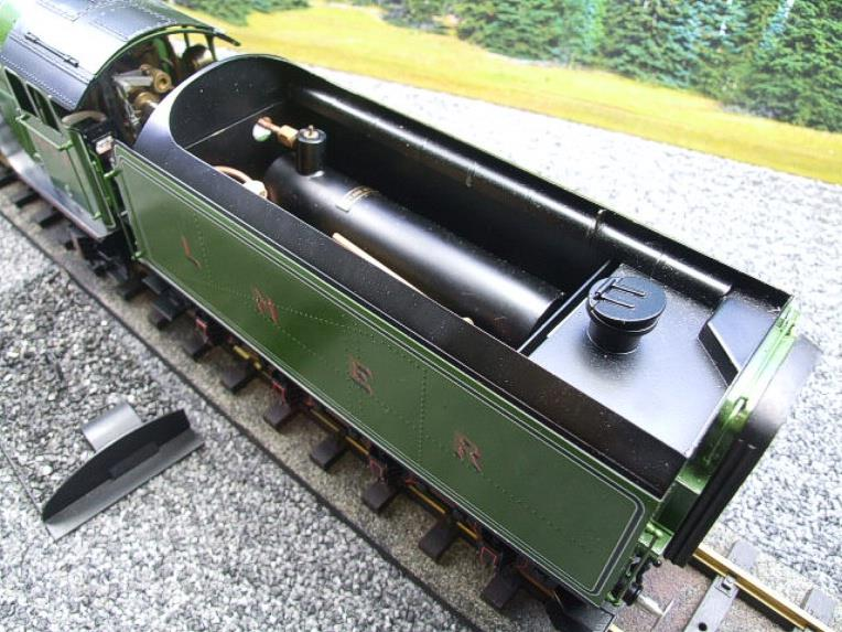 "Gauge 1 Accucraft S32-4 LNER A3 ""Flying Scotsman"" R/N 4472 Gas Fired Live Steam R/Controlled Bxd image 16"
