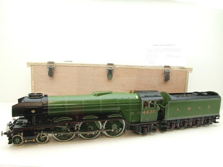 "Gauge 1 Accucraft S32-4 LNER A3 ""Flying Scotsman"" R/N 4472 Gas Fired Live Steam R/Controlled Bxd image 22"