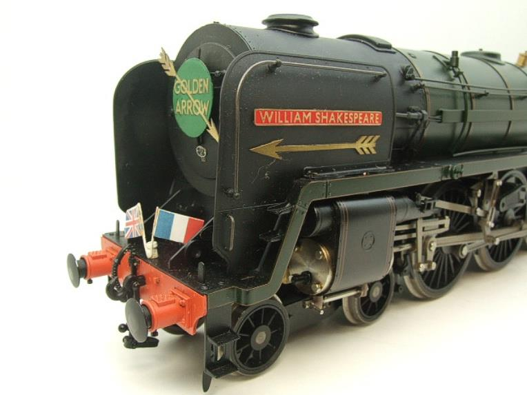 "Gauge 1 G1MC Aster BR Britannia 4-6-2 Standard Class 7 ""William Shakespeare"" RN 70004 Live Steam image 11"
