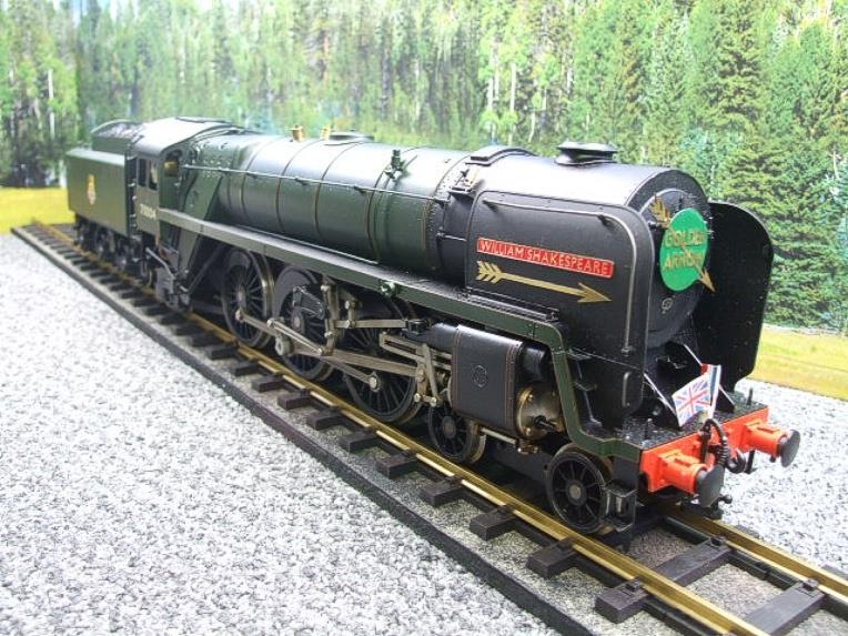 "Gauge 1 G1MC Aster BR Britannia 4-6-2 Standard Class 7 ""William Shakespeare"" RN 70004 Live Steam image 12"