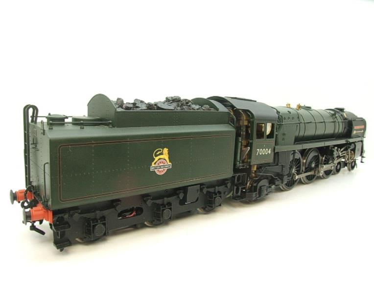 "Gauge 1 G1MC Aster BR Britannia 4-6-2 Standard Class 7 ""William Shakespeare"" RN 70004 Live Steam image 16"