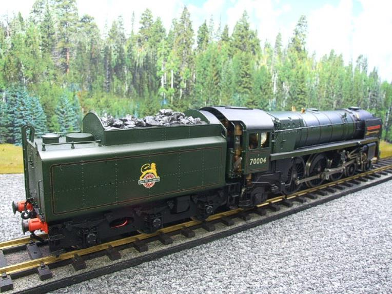 "Gauge 1 G1MC Aster BR Britannia 4-6-2 Standard Class 7 ""William Shakespeare"" RN 70004 Live Steam image 20"