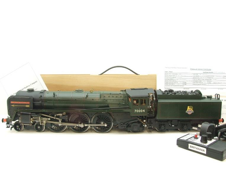 "Gauge 1 G1MC Aster BR Britannia 4-6-2 Standard Class 7 ""William Shakespeare"" RN 70004 Live Steam image 22"