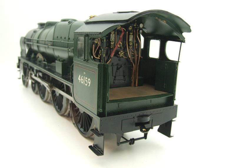 "Gauge 1 Fine Scale Brass BR Royal Scot Class ""The Royal Air Force"" R/N 46159 Electric 2 Rail image 11"