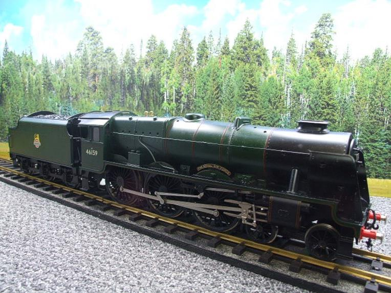 "Gauge 1 Fine Scale Brass BR Royal Scot Class ""The Royal Air Force"" R/N 46159 Electric 2 Rail image 15"